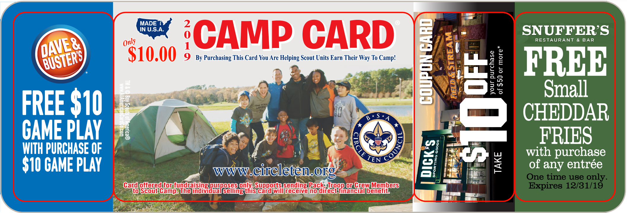 Camp Cards - Plano Pack 4380